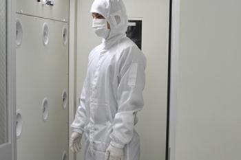 作業者の防護服