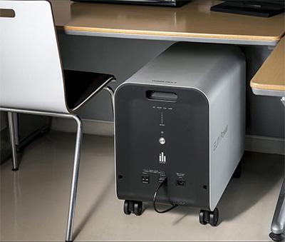 ノートPCの電源のバックアップ
